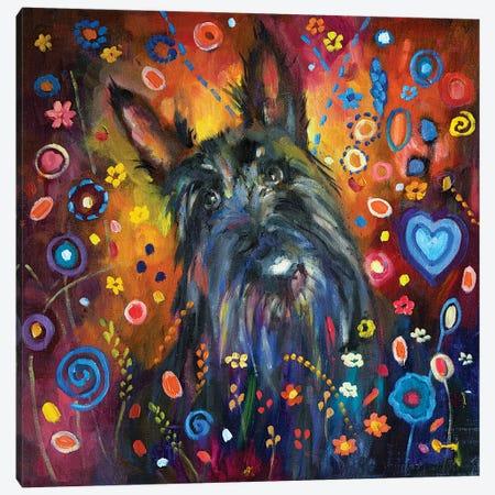 Scottie Canvas Print #SGN26} by Sue Gardner Canvas Art Print