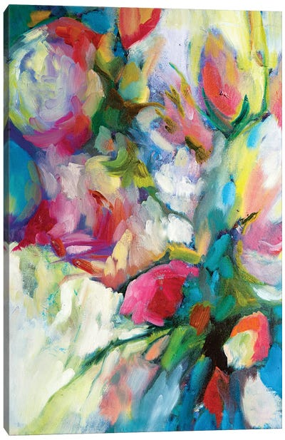 Fragrant Summer Canvas Art Print