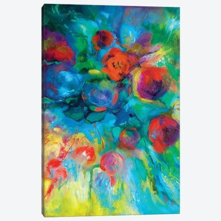 Red Hot Summer Canvas Print #SGN34} by Sue Gardner Canvas Art