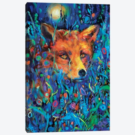Fantasy Mr Fox Canvas Print #SGN3} by Sue Gardner Canvas Print