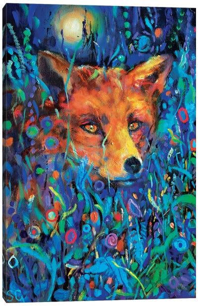 Fantasy Mr Fox Canvas Art Print