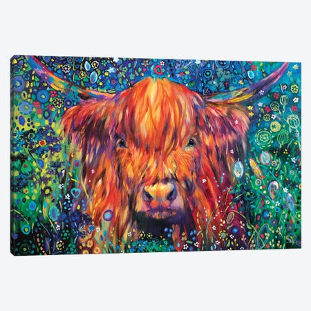 Cow Parsley Canvas Print #SGN46} by Sue Gardner Canvas Art Print