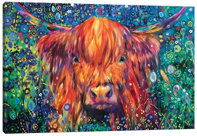Cow Parsley Canvas Art Print
