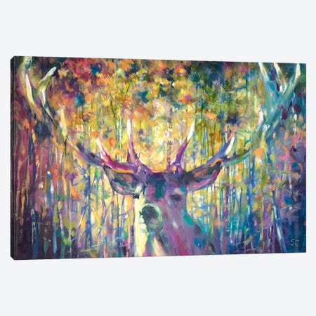 Guardian Of The Green Canvas Print #SGN48} by Sue Gardner Canvas Art