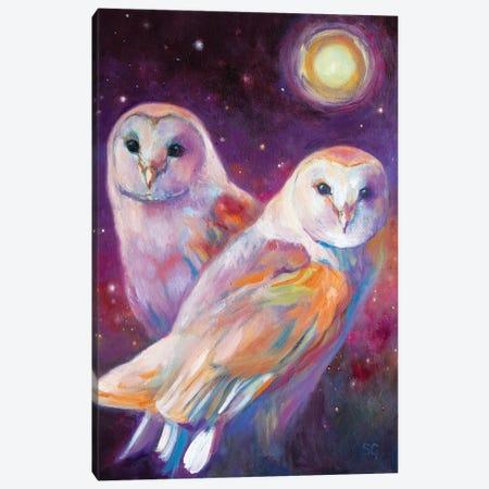 Beneath The Summer Moon Canvas Print #SGN53} by Sue Gardner Art Print