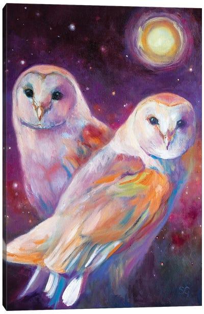 Beneath The Summer Moon Canvas Art Print