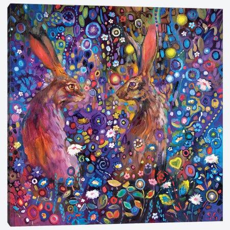 The Garden of Delights Canvas Print #SGN6} by Sue Gardner Canvas Artwork