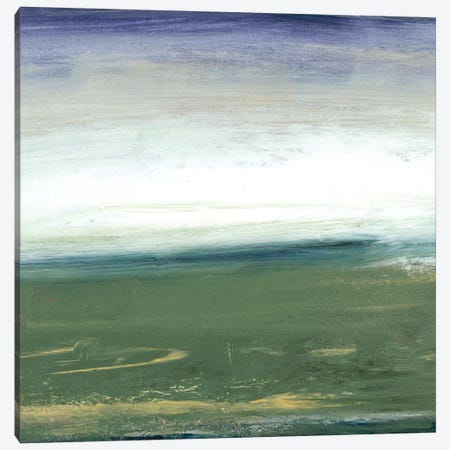 Field & Sky Canvas Print #SGO16} by Sharon Gordon Art Print