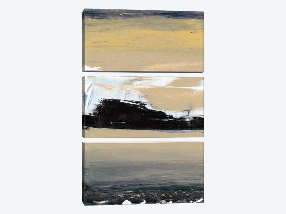 Glide VII by Sharon Gordon 3-piece Canvas Wall Art