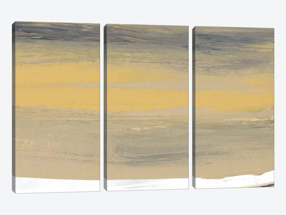 Glide VIII by Sharon Gordon 3-piece Canvas Art Print