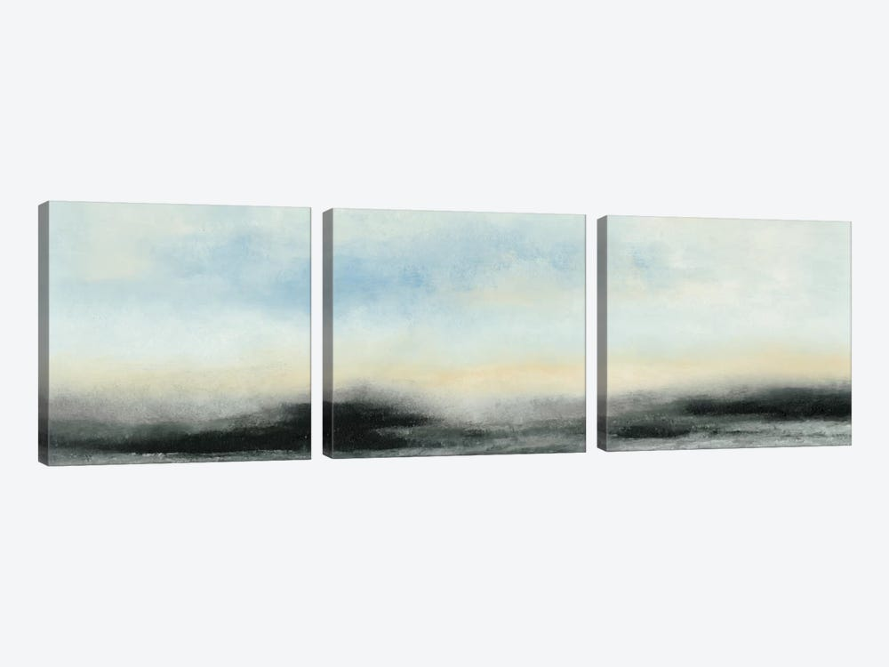 Horizon View I by Sharon Gordon 3-piece Canvas Artwork