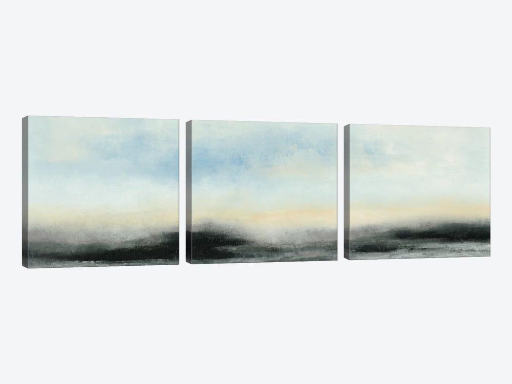Horizon View I by Sharon Gordon 3-piece Canvas Artwork