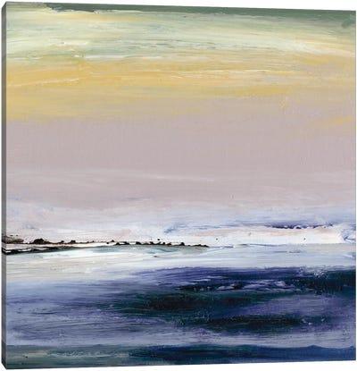 Amethyst Horizon Canvas Art Print
