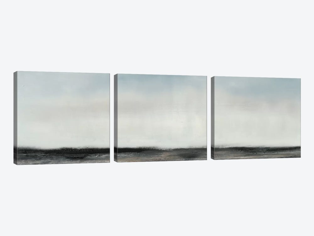 Horizon View II by Sharon Gordon 3-piece Canvas Wall Art