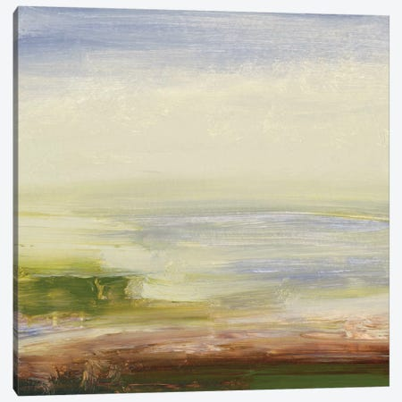 Pastel Sea Canvas Print #SGO27} by Sharon Gordon Canvas Art