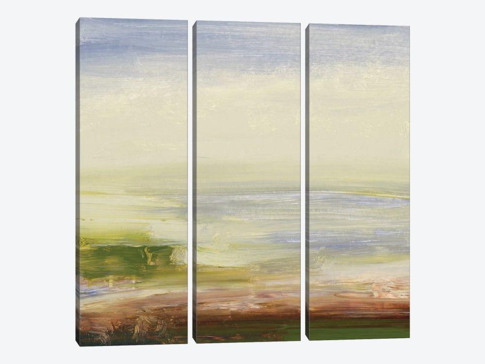 Pastel Sea by Sharon Gordon 3-piece Canvas Print