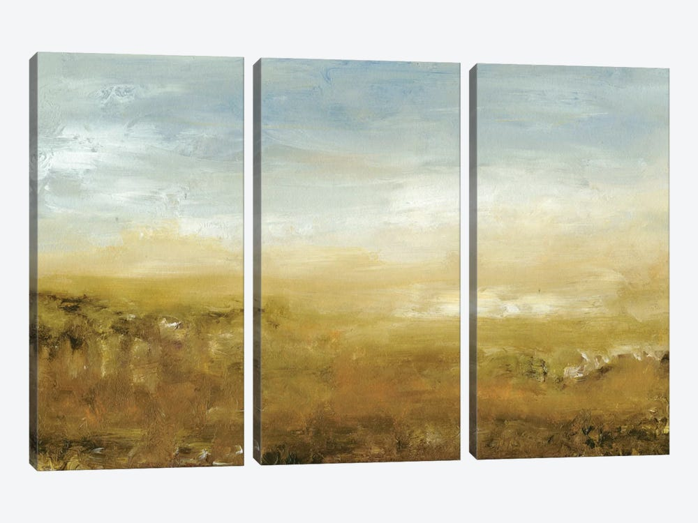 Pratts Falls Road I by Sharon Gordon 3-piece Canvas Artwork