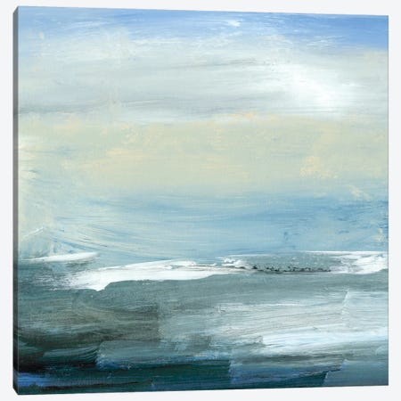 Chromatic Sea Canvas Print #SGO2} by Sharon Gordon Canvas Artwork