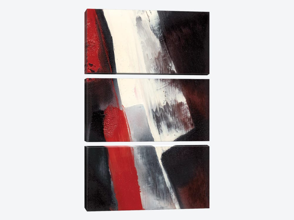 Red Streak I by Sharon Gordon 3-piece Art Print