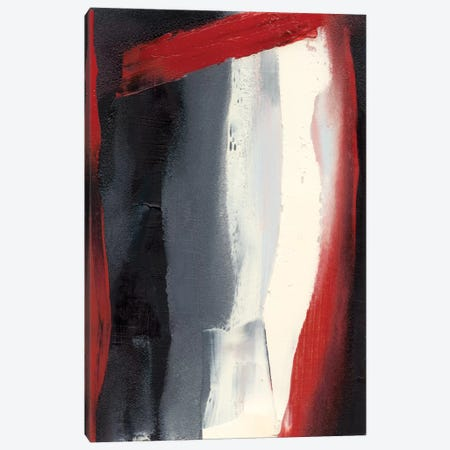 Red Streak II Canvas Print #SGO31} by Sharon Gordon Canvas Artwork