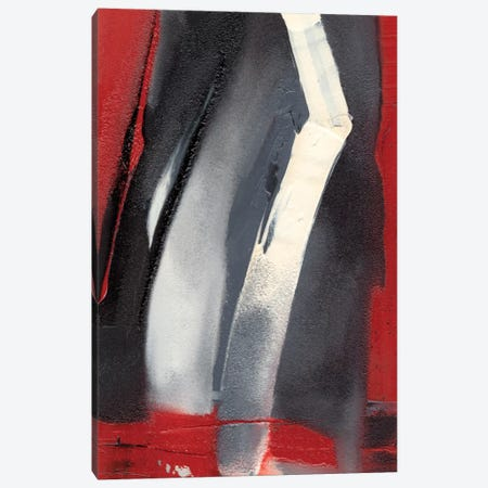 Red Streak III Canvas Print #SGO32} by Sharon Gordon Canvas Artwork