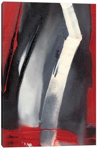 Red Streak III Canvas Art Print