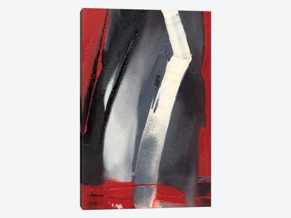 Red Streak III by Sharon Gordon 1-piece Canvas Print