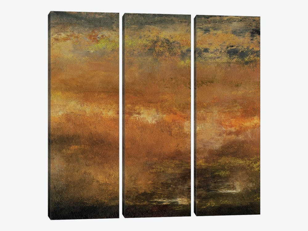 Seasons II by Sharon Gordon 3-piece Canvas Art