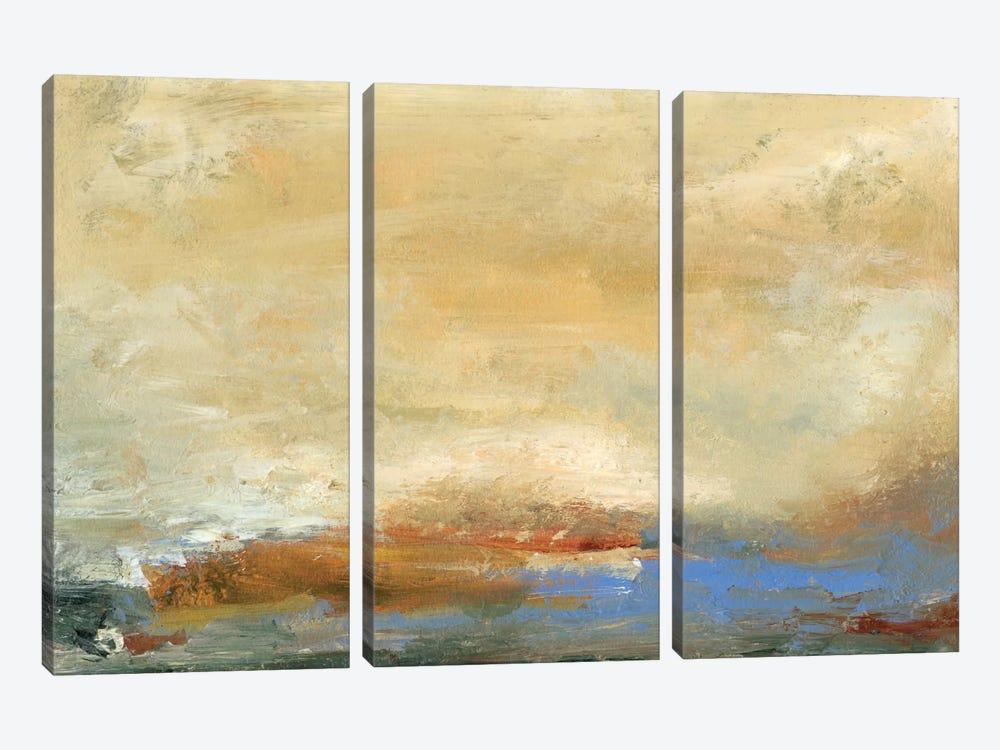 Coast View I by Sharon Gordon 3-piece Canvas Art