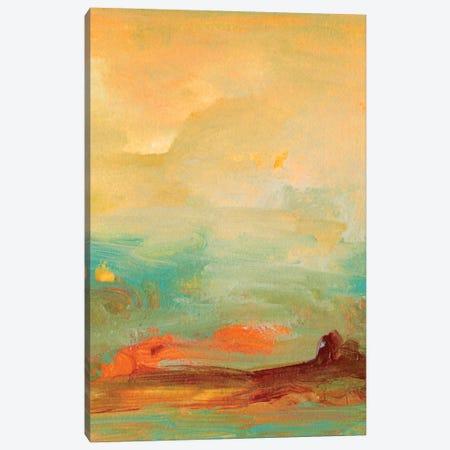 Tropical View II Canvas Print #SGO40} by Sharon Gordon Art Print