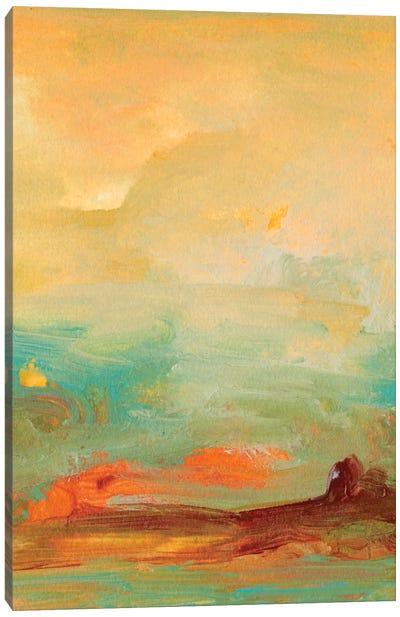 Tropical View II Canvas Art Print