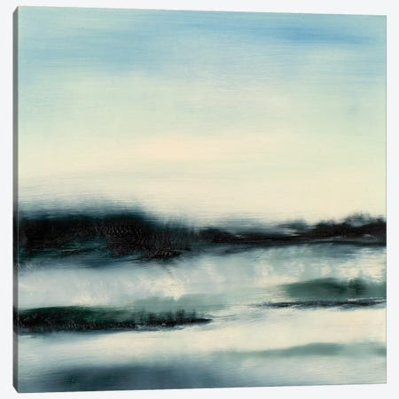 Aqueous Scape  Canvas Print #SGO43} by Sharon Gordon Canvas Print
