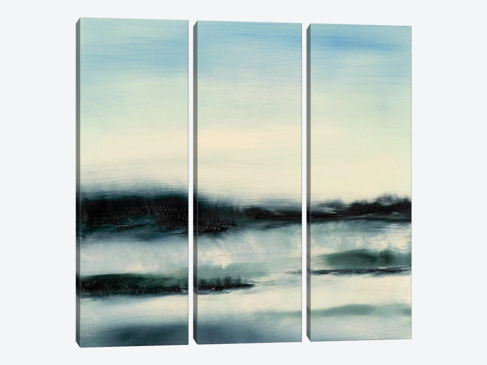 Aqueous Scape  by Sharon Gordon 3-piece Canvas Print