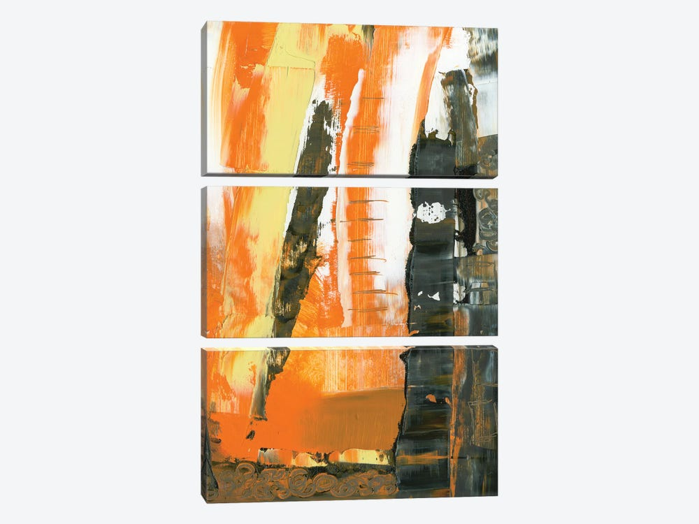 Avenue IV by Sharon Gordon 3-piece Canvas Print