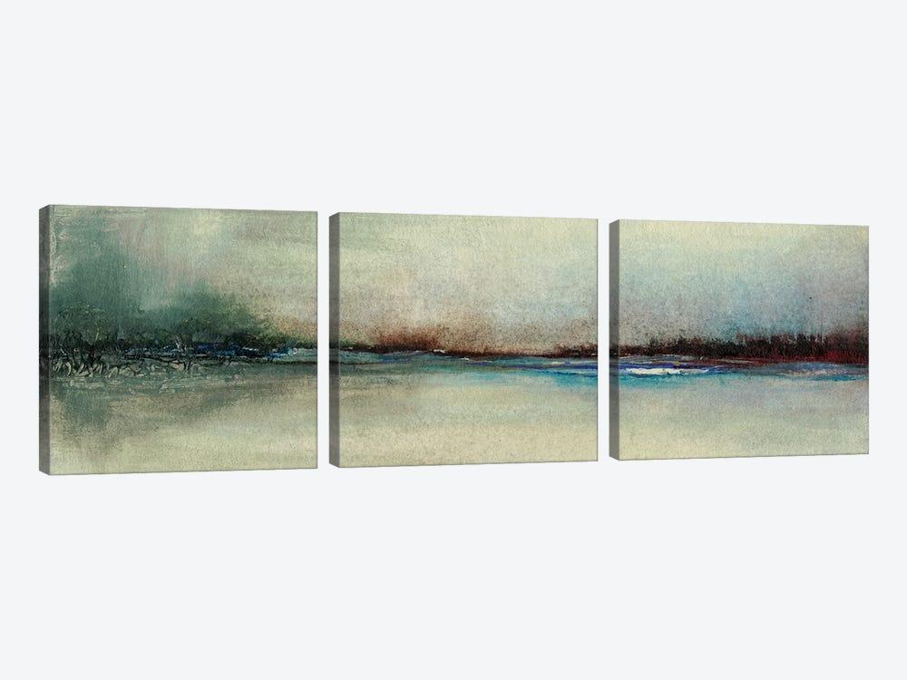 Awaken  by Sharon Gordon 3-piece Canvas Wall Art