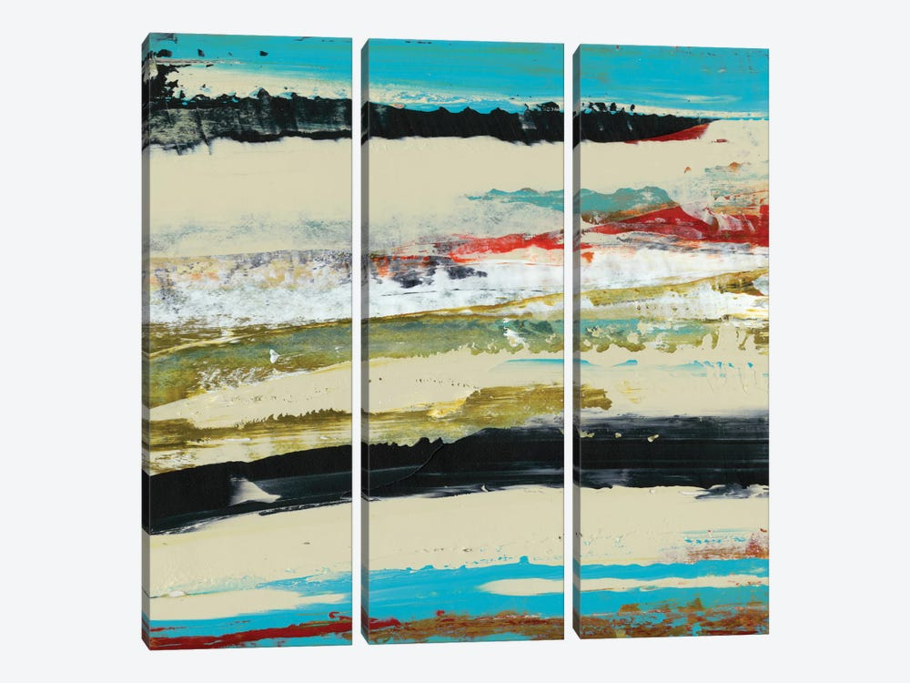 Deconstructed View I by Sharon Gordon 3-piece Canvas Art