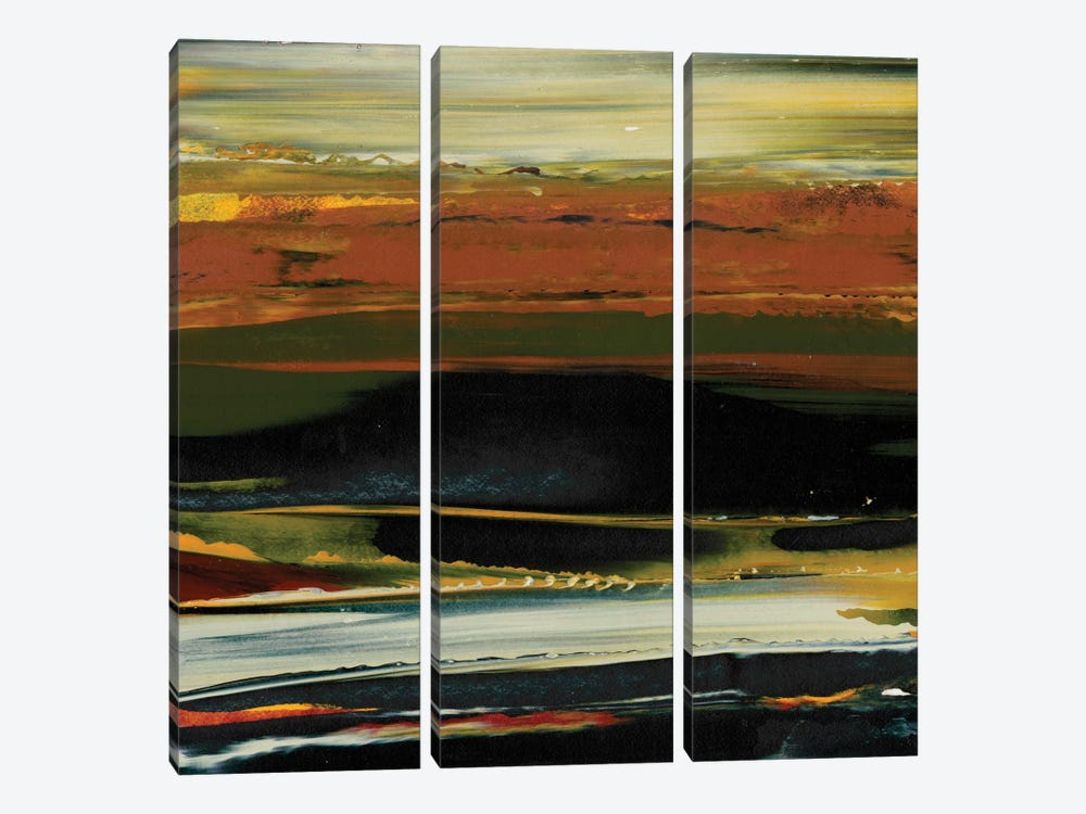 Deconstructed View II by Sharon Gordon 3-piece Art Print