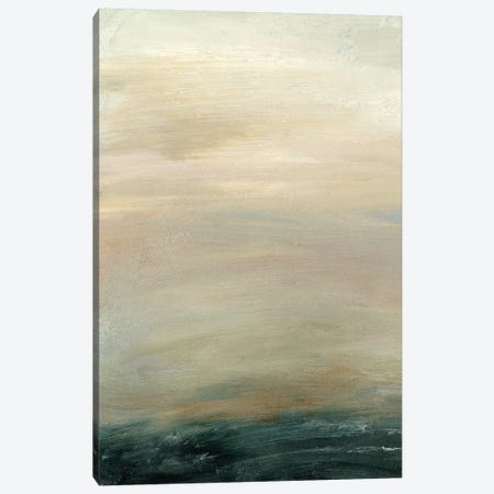 Soft Horizon  I Canvas Print #SGO70} by Sharon Gordon Canvas Art
