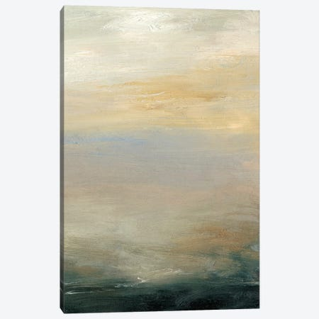 Soft Horizon  II Canvas Print #SGO71} by Sharon Gordon Canvas Wall Art