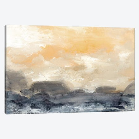 Bay Wave II Canvas Print #SGO74} by Sharon Gordon Art Print