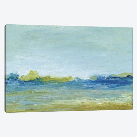 The Shore Canvas Print #SGO78} by Sharon Gordon Canvas Art