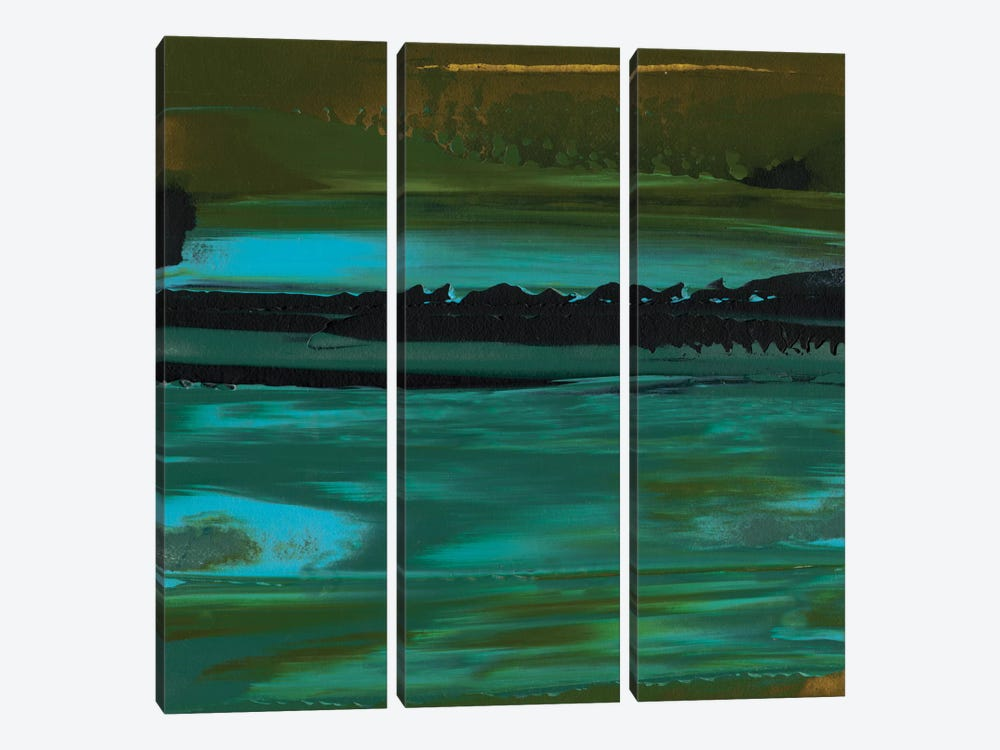 Deconstructed View III by Sharon Gordon 3-piece Canvas Artwork