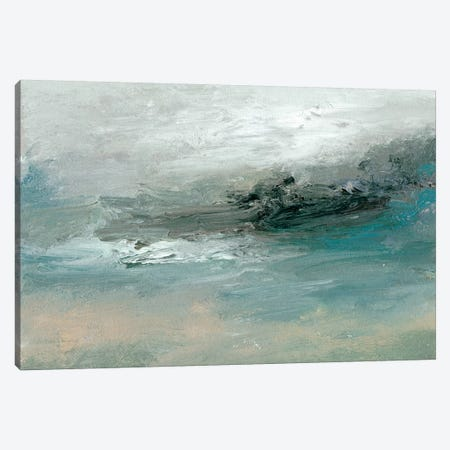 Tidal Pool II Canvas Print #SGO80} by Sharon Gordon Art Print