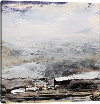 Horizon at Nightfall I Canvas Art Print