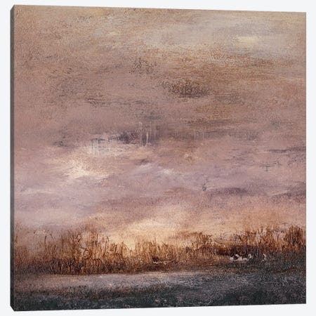 Horizon at Nightfall II Canvas Print #SGO87} by Sharon Gordon Canvas Wall Art