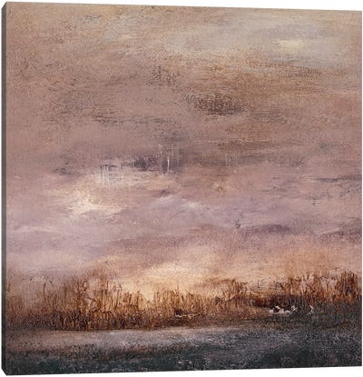 Horizon at Nightfall II Canvas Art Print