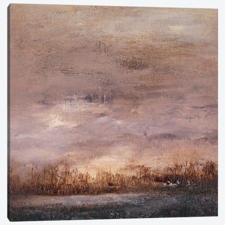 Horizon at Nightfall II Canvas Print #SGO87} by Sharon Gordon Canvas Wall Art
