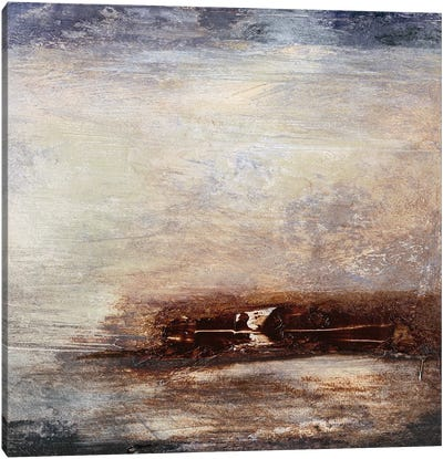 Horizon at Nightfall III Canvas Art Print