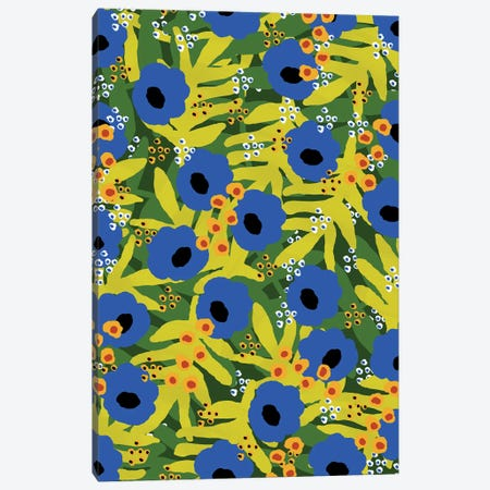 Tropical Floral Canvas Print #SGP31} by Studio Grand-Père Art Print