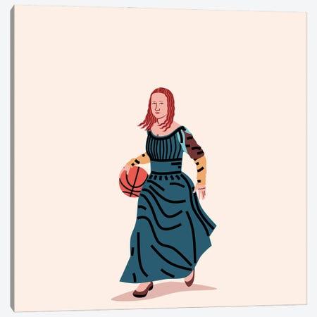 Balling Mona Canvas Print #SGR11} by Elad Shagrir Art Print